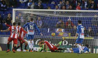 Las mejores imágenes del Espanyol-Girona