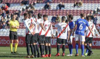 Sevilla Atlético-Oviedo, en imágenes