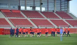 Entrenamiento del Sevilla FC (16/1/2018)
