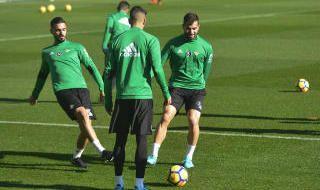 Entrenamiento del Betis (19/1/2018)