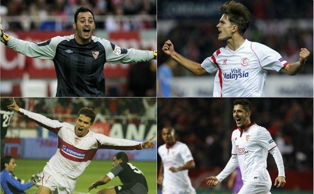 Jugadores cedidos en el Sevilla FC
