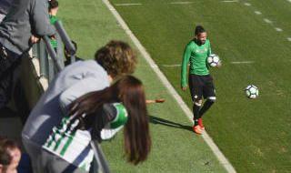 Las mejores imágenes del entrenamiento del Betis