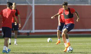 Entrenamiento del Sevilla FC (16/2/18)