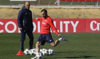 Entrenamiento del Sevilla FC (19/2/2018)
