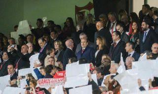 Las mejores imágenes del Sevilla-Manchester