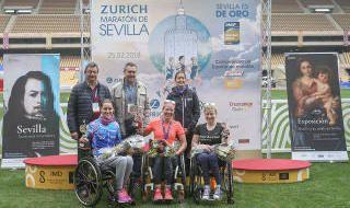Las mejores imágenes del Maratón de Sevilla 2018