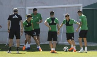 Entrenamiento del Betis (15/5/2018)