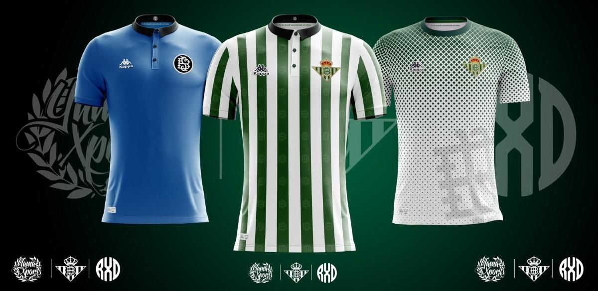 Conceptos de camiseta del Betis con Kappa para la 2018 2019 ... 6bdf64464917e