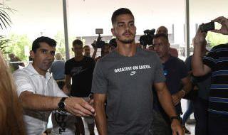Llegada de André Silva a Sevilla