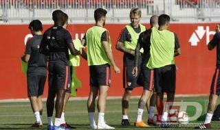 Entrenamiento Sevilla 12 de septiembre