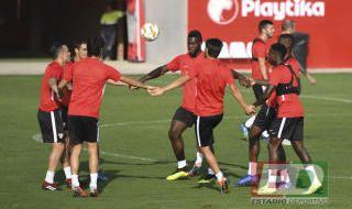 Entrenamiento del Sevilla del 19 de septiembre