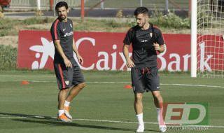 Entrenamiento del Sevilla del 21 de septiembre