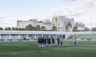 Entrenamiento de Inglaterra en Sevilla