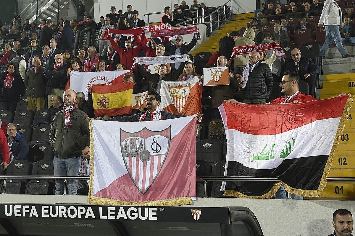 Las imágenes del Akhisar-Sevilla FC