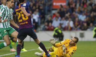 Las imágenes del FC Barcelona-Real Betis