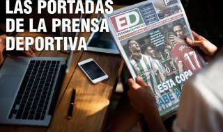 Las portadas del 8 de diciembre