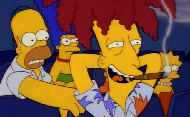 Los homenajes de los Simpsons al cine