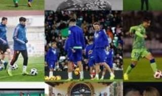 Fin de año de los jugadores de Sevilla y Betis