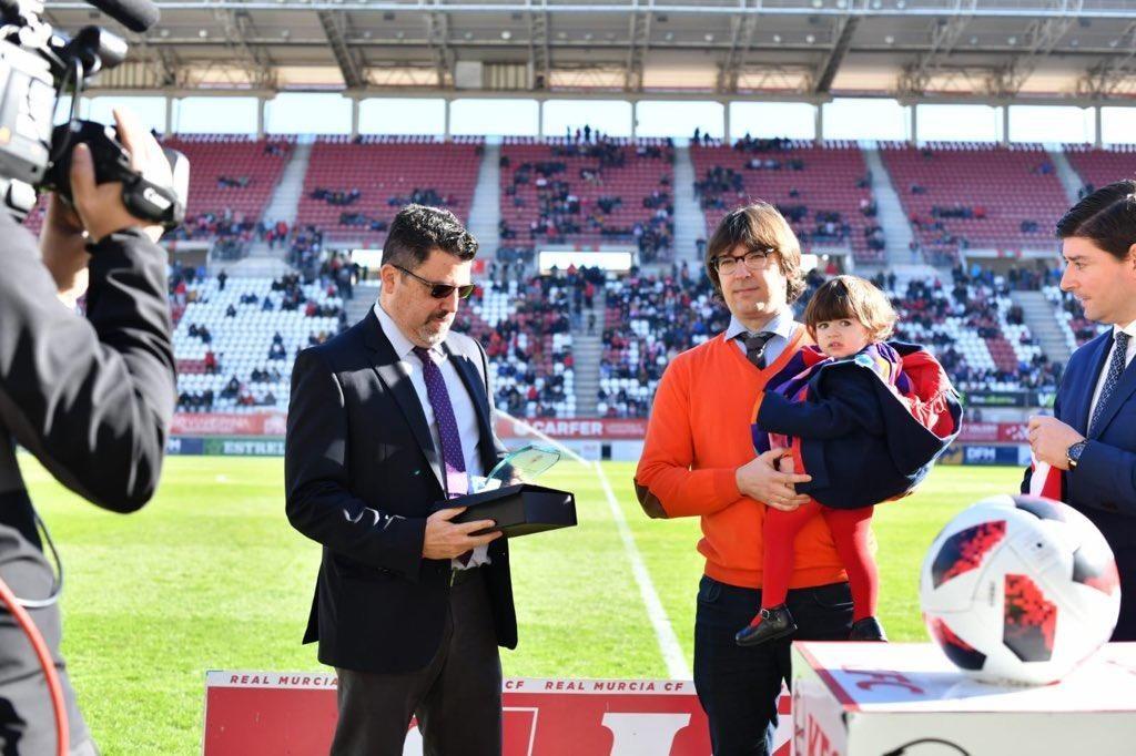 Las imágenes del Real Murcia-Sevilla Atlético