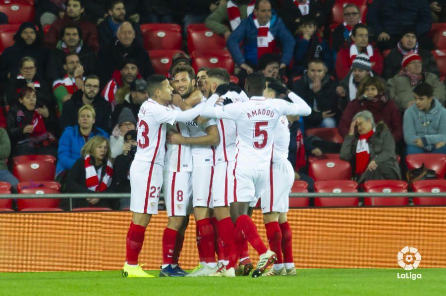 Las notas del Sevilla ante el Athletic