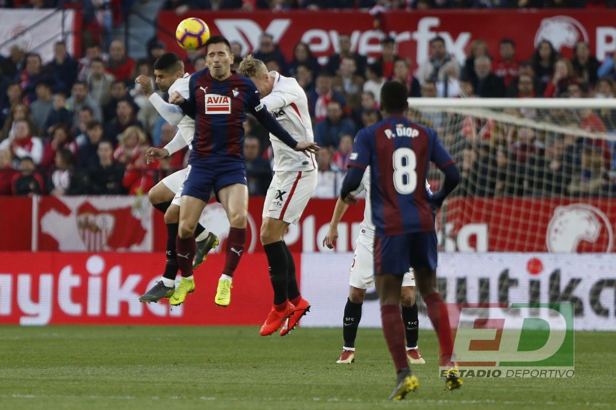 Las notas del Sevilla ante el Eibar