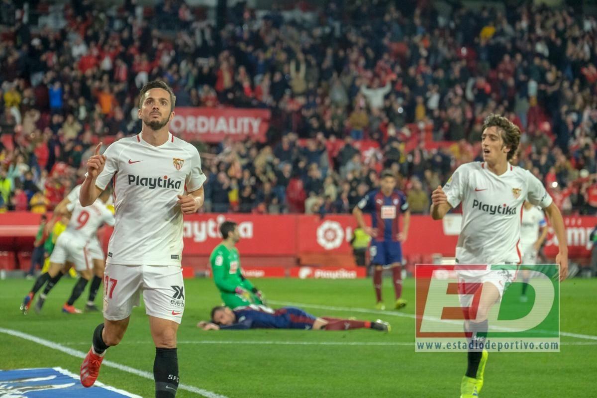 Las imágenes del Sevilla-Eibar