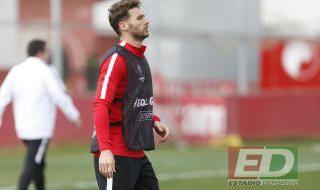 Entrenamiento del Sevilla (19/2/2019)