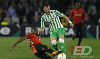 Las imágenes del Real Betis-Rennes