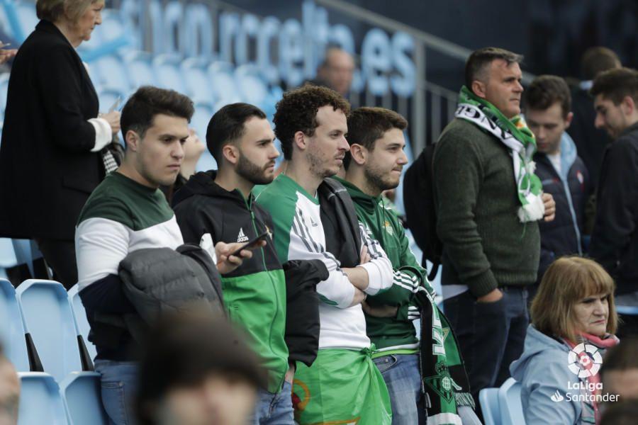Las imágenes del Celta-Betis