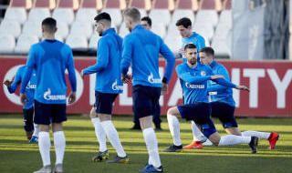 Las imágenes del entrenamiento del Schalke 04