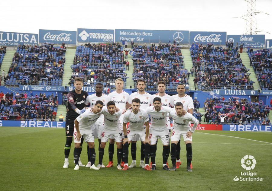 Las notas del Sevilla FC ante el Getafe CF