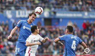 Las imágenes del GetafeCF-Sevilla FC
