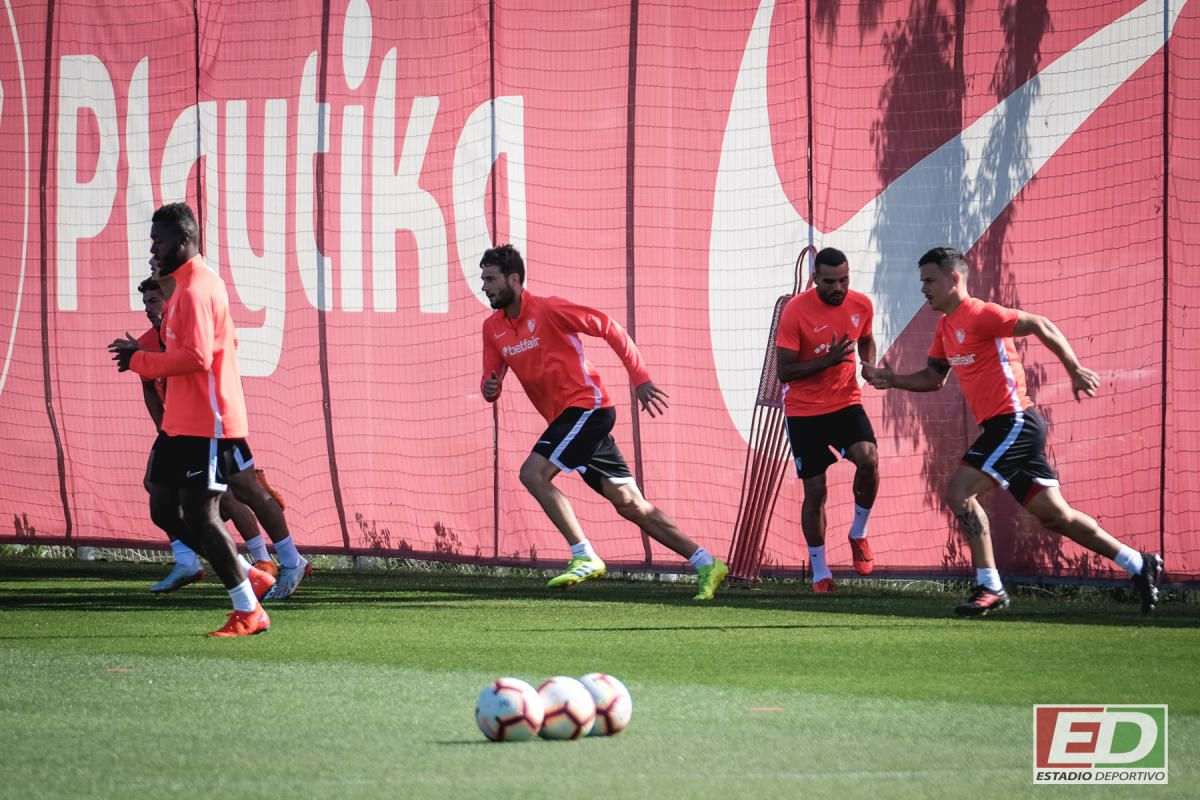 El Sevilla prepara su visita al Atlético de Madrid