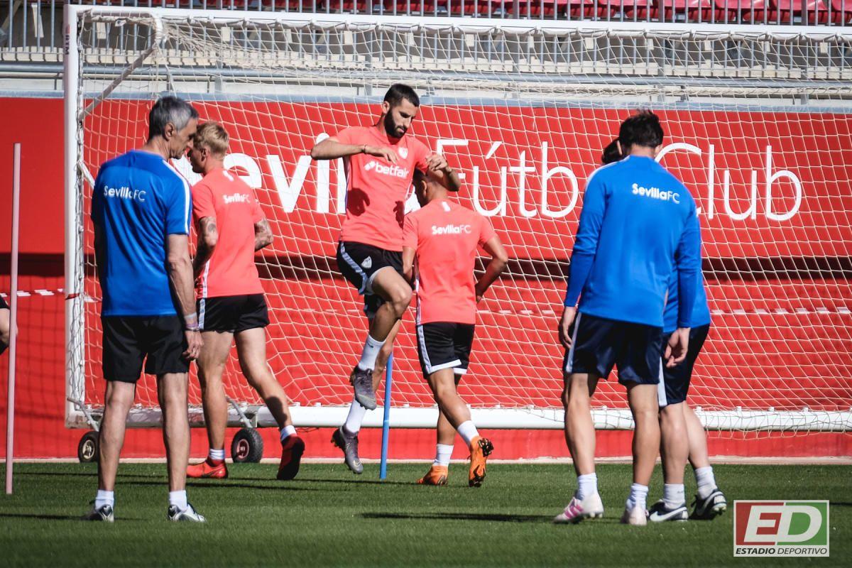 Entrenamiento del Sevilla (11/5/2019)