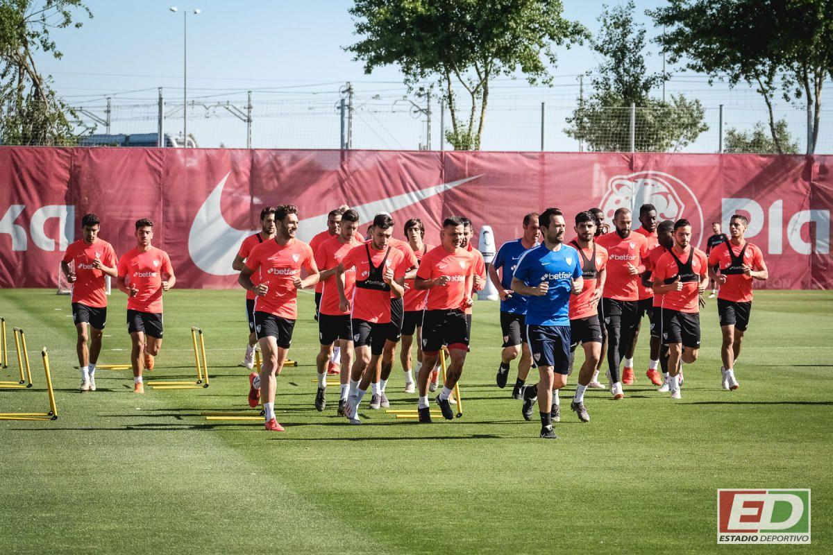 Entrenamiento del Sevilla (14/5/2019)