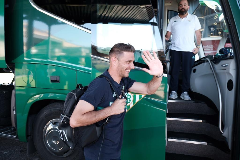 Llegada del Betis a Sevilla desde Estados Unidos