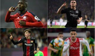 Las 30 revelaciones de las grandes ligas europeas