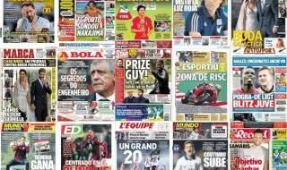 Las portadas del 16 de junio