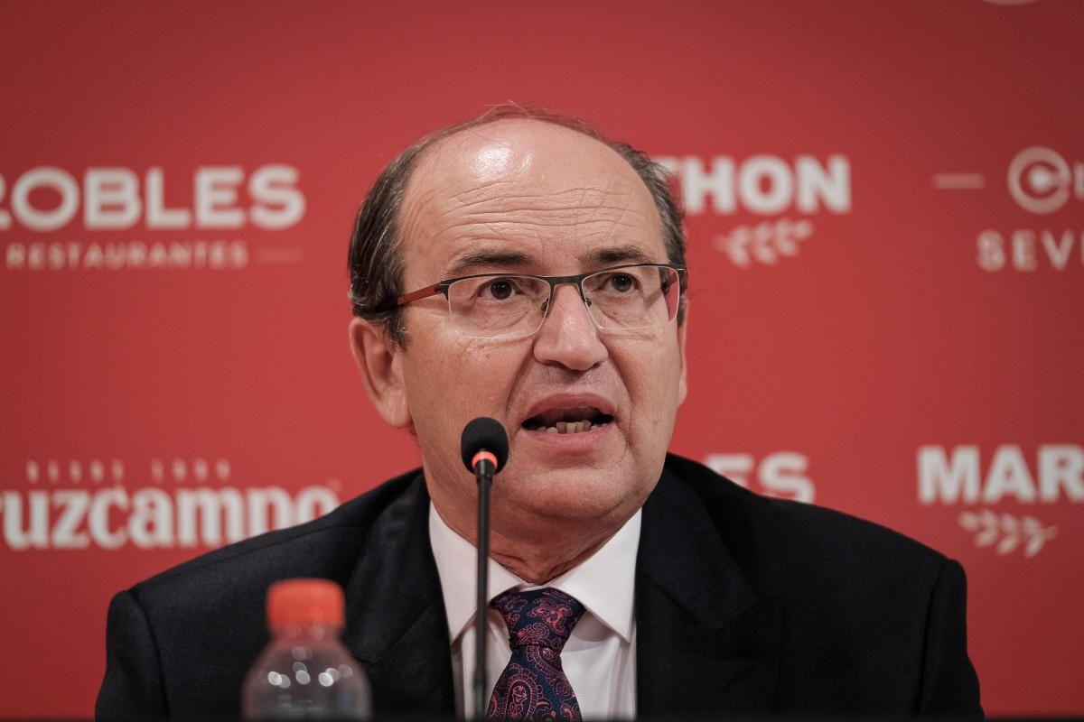 Las imágenes de la presentación de Ocampos, Reguilón y Óliver