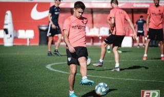 Entrenamiento Sevilla