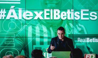 Las imágenes de la presentación de Álex Moreno