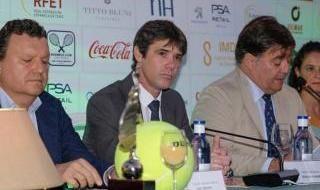 Imágenes de la presentación de la Copa Tenis de Sevilla