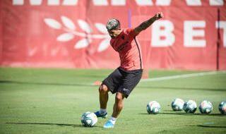 Entrenamiento del Sevilla (10/9/2019)