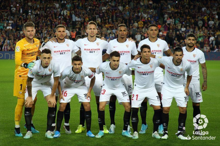 Las notas del Sevilla FC en el Camp Nou
