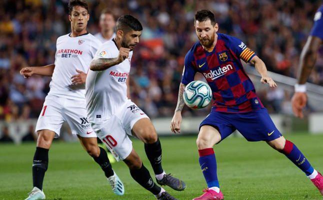 Las imágenes del FC Barcelona-Sevillla FC