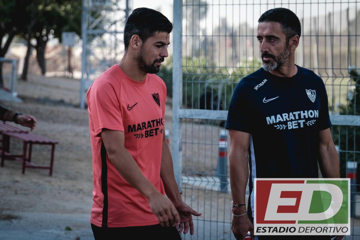 Entrenamiento del Sevilla (9/10/2019)