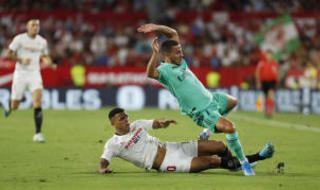 Los diez jugadores del Sevilla más valorados