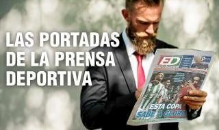 Las portadas de la prensa deportiva del lunes 14 de octubre