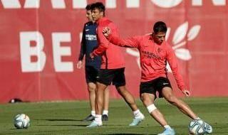 Entrenamiento Sevilla FC
