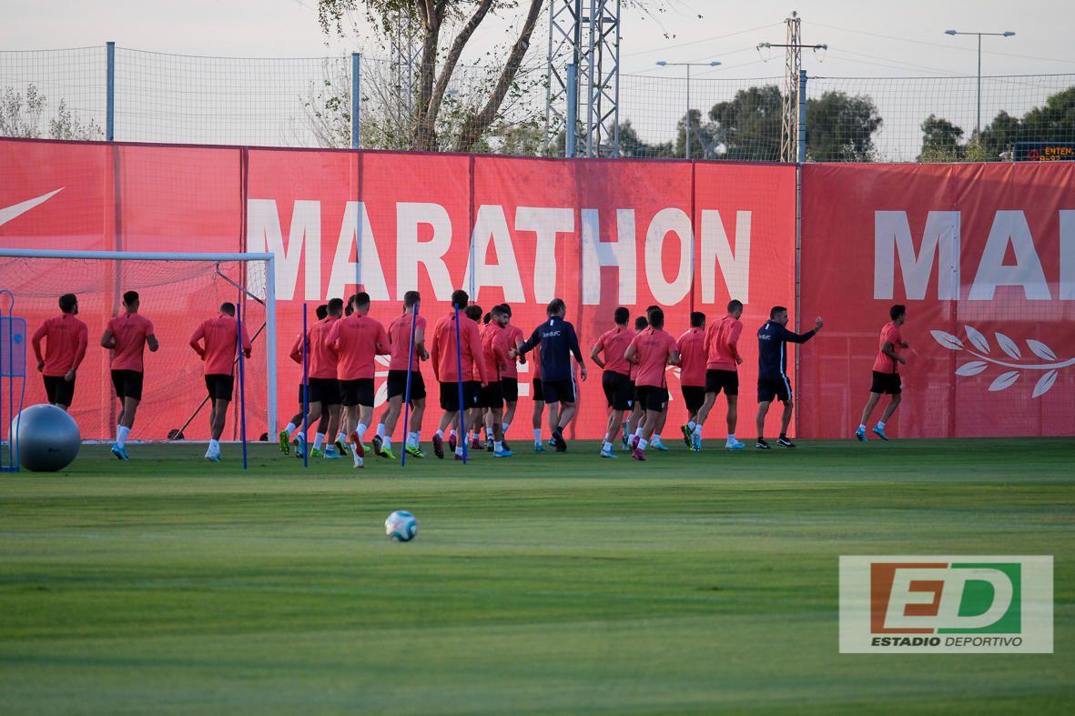 Entrenamiento del Sevilla (16/10/2019)